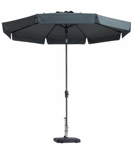 Madison Parasol Flores Luxe ∅300cm (Grey)