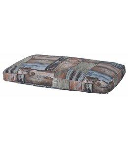 Woef Woef Hondenkussen lounge luxe Jime grijs 70x100cm