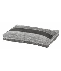 Woef Woef Hondenkussen Denim Stripe Grey