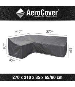 AeroCover Loungeset beschermhoes hoge rug L-vorm links 270x210x90cm