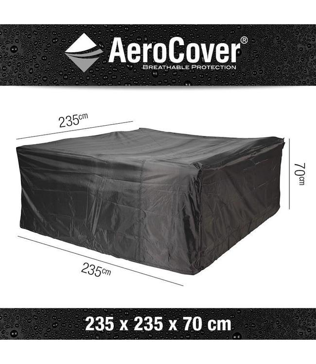 AeroCover Loungeset beschermhoes vierkant 235x235x70cm