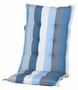 Madison Tuinstoelkussen hoog 50x123cm (Victoria Blue)