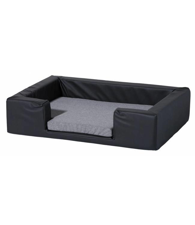 Woef Woef Hondenkussen Dog Bed Skai Leather (Grey)
