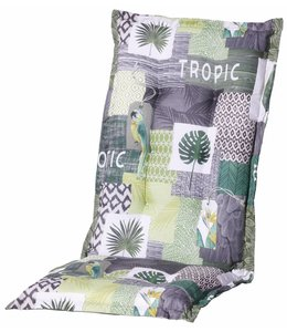 Madison Tuinstoelkussen hoog 50x123cm (Tropic Green)