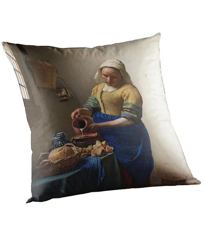 Madison Sierkussen Outdoor Vermeer - Melk Meisje 50x50cm
