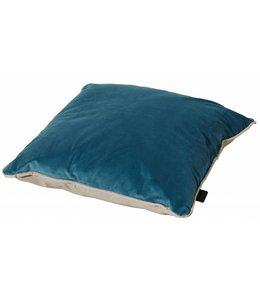 Madison Sierkussen Panama Linnen / Velvet Blue 45x45cm