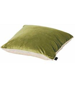 Madison Sierkussen Panama Linnen / Velvet Green 45x45cm
