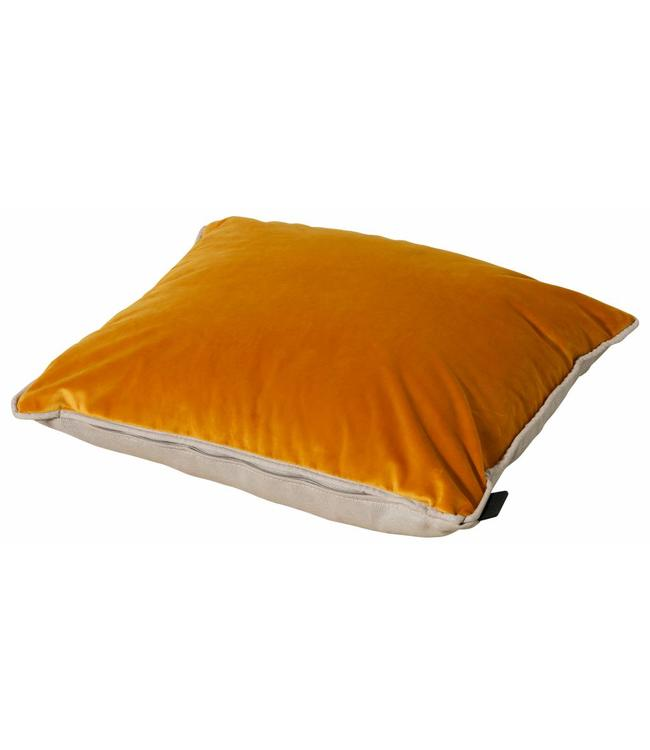 Madison Sierkussen Panama Linnen / Velvet Yellow 45x45cm