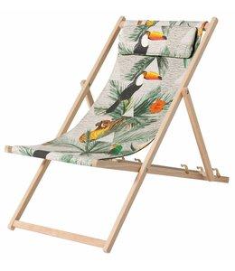 Madison Wood Beachchair Palma (waterproof)