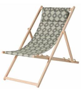 Madison Wood Beachchair Rondo Green (waterproof)