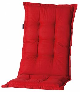 Madison Tuinstoelkussen hoog 50x123cm (Basic Red)
