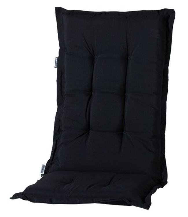Madison Tuinstoelkussen hoog 50x123cm (Basic Black)