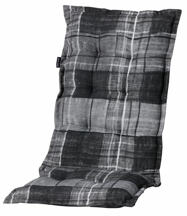 Madison Tuinstoelkussen hoog 50x123cm (Johnny Grey)
