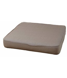 Loungekussen Pure Luxe 60x60cm (Panama Taupe) extra dik