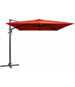 Madison Parasol Monaco flex 300x300cm (Brick Red)
