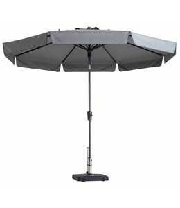Madison Parasol Flores ∅ 300cm (Light Grey)
