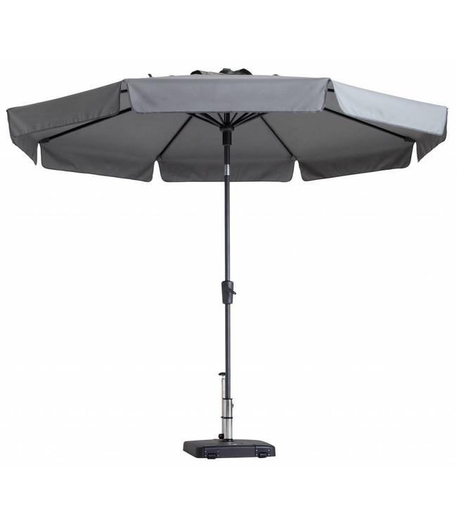 Madison Parasol Flores Luxe ∅300cm (Light Grey)