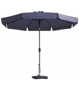 Madison Parasol Flores ∅ 300cm (Safier Blue)