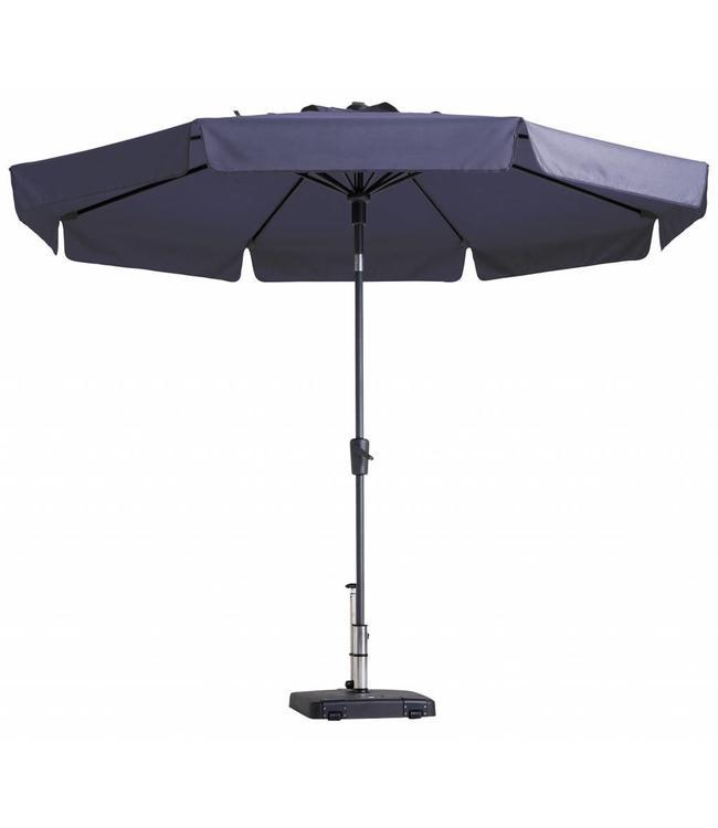 Madison Parasol Flores Luxe ∅300cm (Safier Blue)