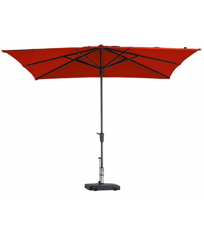 Madison Parasol Syros luxe 280x280cm (Brick Red)