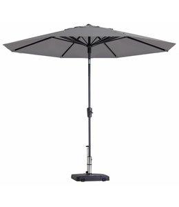 Madison Parasol Paros Round luxe ∅300cm (Light Grey)