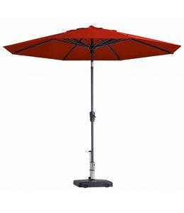 Madison Parasol Paros Round luxe ∅300cm (Brick Red)