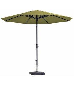 Madison Parasol Paros Round luxe ∅300cm (Sage Green)