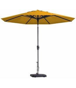 Madison Parasol Paros Round luxe ∅300cm (Golden Glow)