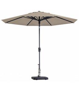 Madison Parasol Paros Round luxe ∅300cm (Ecru)