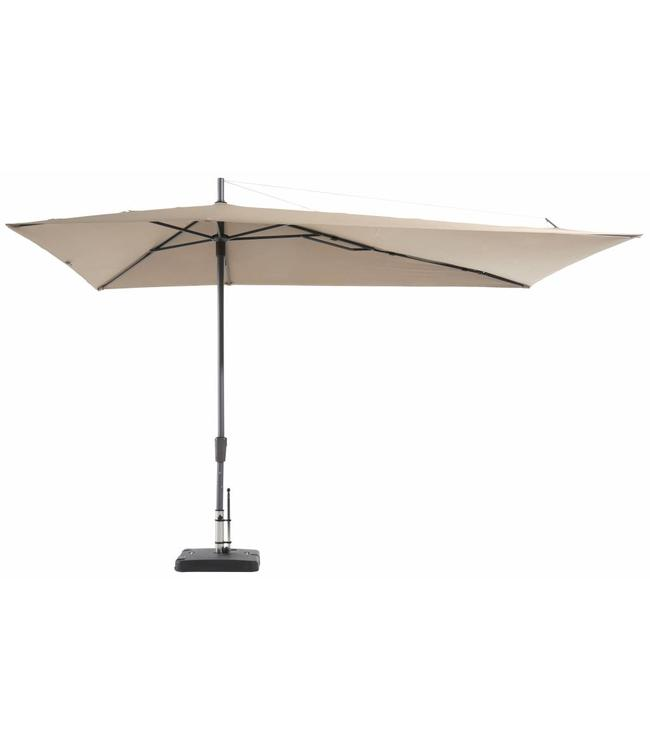 Madison Parasol Asymetric Sideway 220x360cm (Ecru)