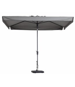 Madison Parasol Delos Luxe 300x200cm (Light Grey)