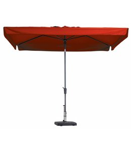 Madison Parasol Delos Luxe 300x200cm (Brick Red)