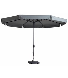 Madison Parasol Syros Round ∅350cm (Light Grey)