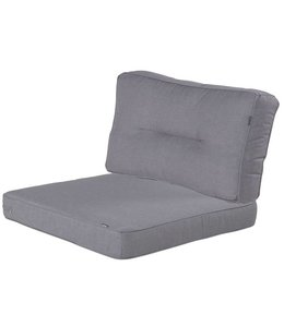 Hartman Loungekussens Havana 4 SETS 75x75 + 75x40cm (Seal Grey)