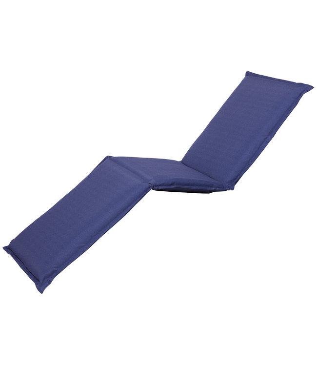 Madison Ligbed kussen 65x200cm (Outdoor Panama Safier Blue)