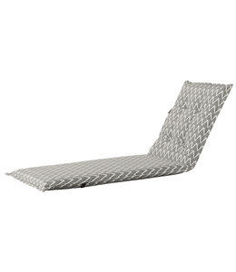 Madison Ligbed kussen 65x200cm (Outdoor Magic Grey)