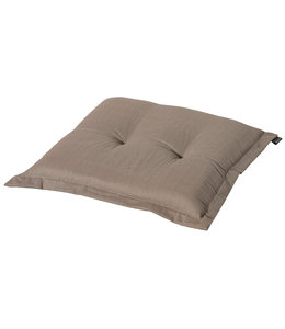 Madison Hocker kussen 50x50cm (Basic Taupe)