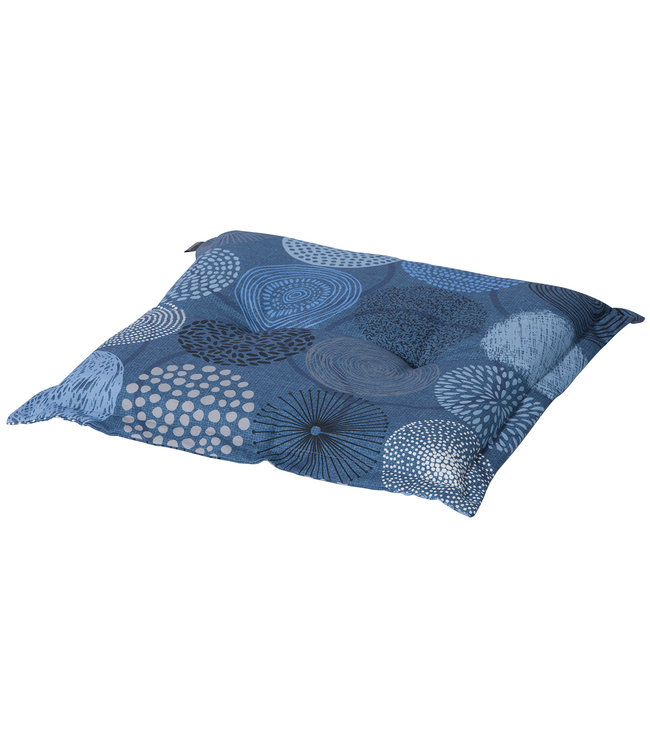 Madison Hocker kussen 50x50cm (Fantasy Blue)