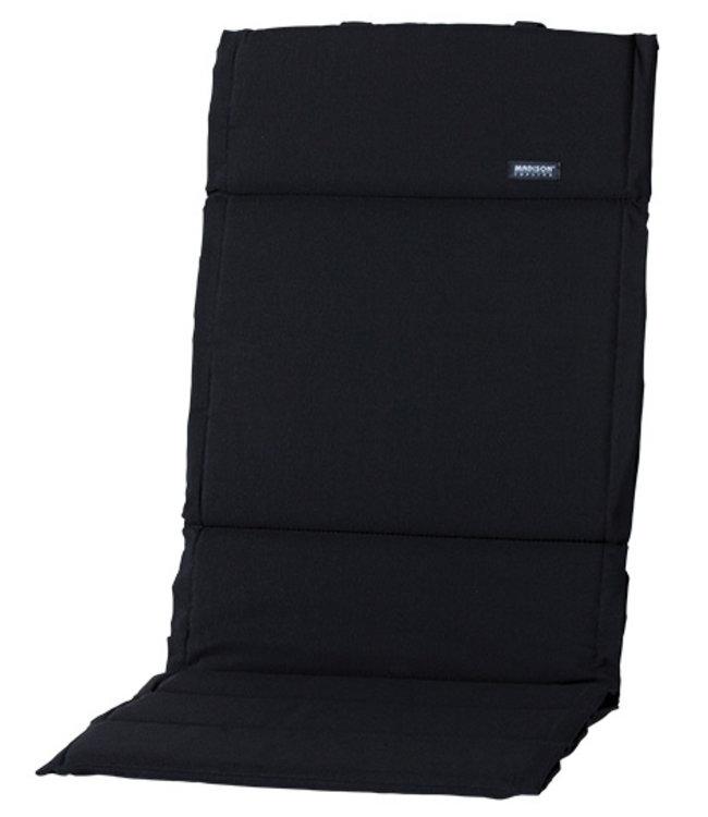 Madison Fiber de luxe kussen 123x50cm (Basic Black)