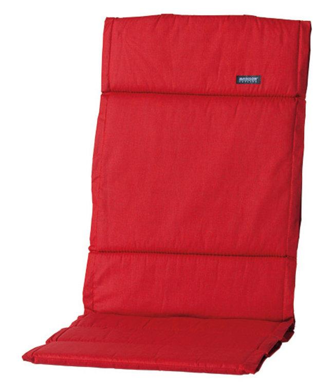 Madison Fiber de luxe kussen 123x50cm (Basic Red)