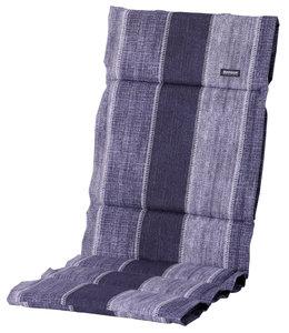 Madison Fiber de luxe kussen 123x50cm (Denim Stripe Blue)