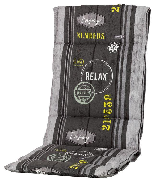 Madison Fiber de luxe kussen 123x50cm (Megg Grey)