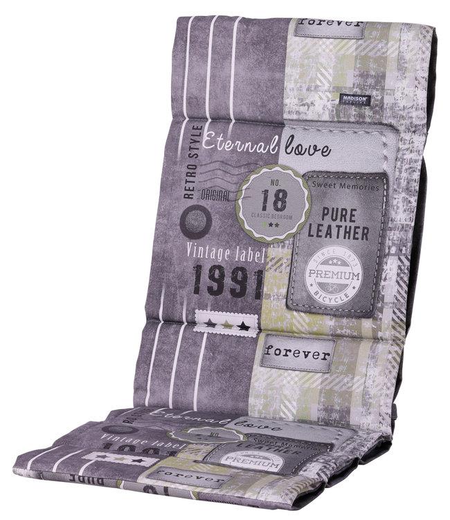 Madison Fiber de luxe kussen 123x50cm (Ruita Lime)