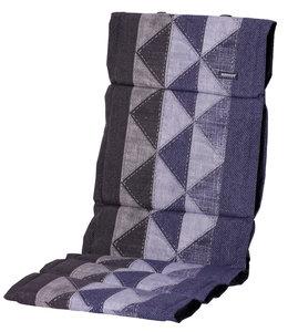 Madison Fiber de luxe kussen 123x50cm (Triangle Blue)