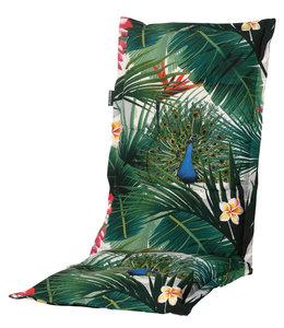 Madison Tuinstoelkussen hoog 50x123cm (Flora Green)