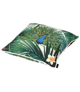 Madison Sierkussen Flora Green 50x50cm