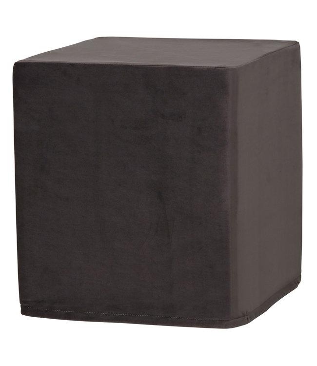 Madison Outdoor Cube 40x40x45 (Outdoor Velvet Grey)