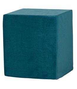 Madison Outdoor Cube 40x40x45 (Outdoor Velvet Blue)