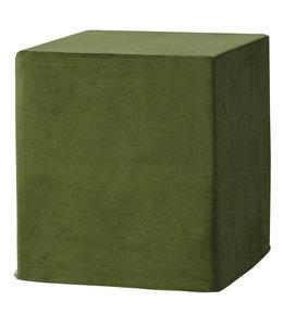 Madison Outdoor Cube 40x40x45 (Outdoor Velvet Green)