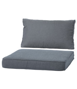 Madison Loungekussen Luxe set 73x73 + 73x40cm (Basic Grey)
